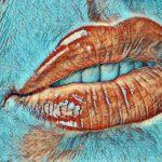 Bibir yang Mengambang di Langit
